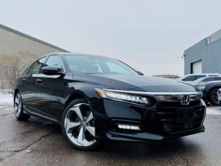 Used 2018 Honda Accord Sedan Touring|Sunroof|Navigation|Backup camera|wireless charger! for sale in Brampton, ON