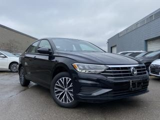 Used 2019 Volkswagen Jetta  CAM LEATHER HEATED SEATS SUN ROOF ALLOYS APPLE CAR PLAY!! for sale in Brampton, ON