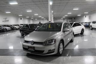 Used 2015 Volkswagen Golf NAVIGATION I LEATHER I BIG SCREEN I REAR CAM I HEATED SEATS for sale in Mississauga, ON