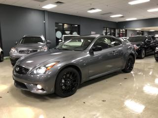 Used 2015 Infiniti Q60 Coupe SPORT*LIMITED EDITION*NAVIGATION*BACK-UP CAMERA*BO for sale in North York, ON