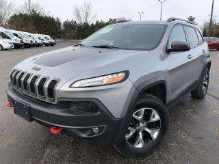 Used 2017 Jeep Cherokee Trailhawk 4WD for sale in Cayuga, ON