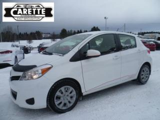 Used 2013 Toyota Yaris LE for sale in East broughton, QC