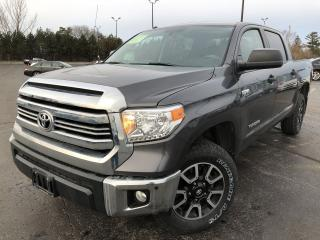 Used 2016 Toyota TUNDRA SR5 TRD CREW 4X4 for sale in Cayuga, ON