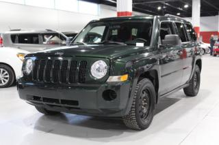 Used 2010 Jeep Patriot Sport 4D Utility 4WD for sale in Ste-Catherine, QC