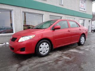 Used 2010 Toyota Corolla Berline 4 portes, boîte manuelle, CE for sale in St-Jérôme, QC