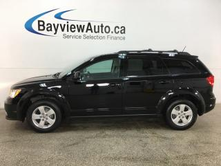 Used 2016 Dodge Journey CVP/SE Plus - 7PASS! 3 ZONE CLIMATE! U-CONNECT! ALLOYS! + MORE! for sale in Belleville, ON