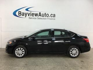 Used 2019 Nissan Sentra 1.8 SV - AUTO! SUNROOF! HTD SEATS! 17,000KMS! + MORE! for sale in Belleville, ON