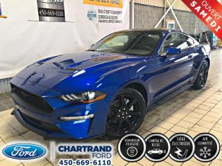 Used 2018 Ford Mustang EcoBoost à toit fuyant for sale in Laval, QC