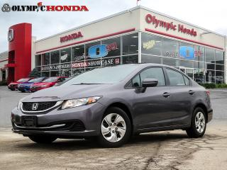 Used 2015 Honda Civic LX Sedan for sale in Guelph, ON