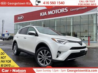 Used 2016 Toyota RAV4 AWD Limited | ROOF | LEATHER | BU CAM | NAVI for sale in Georgetown, ON