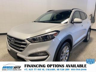 Used 2018 Hyundai Tucson Luxury 2.0L HEATED LEATHER AND STEERING WHEEL, ROOF. for sale in Calgary, AB