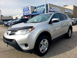 Used 2014 Toyota RAV4 LE AWD|HEATED SEATS|BACK CAMERA|CERTIFIED for sale in Concord, ON