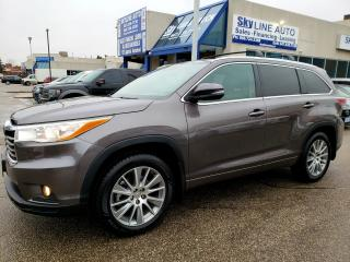 Used 2015 Toyota Highlander XLE 8 PASSENGER|NAVIGATION|AWD|CAMERA|LEATHER|CERTIFIED for sale in Concord, ON