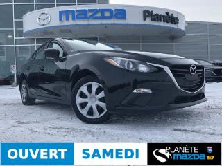 Used 2016 Mazda MAZDA3 GX AUTO AIR CRUISE BLUETOOTH for sale in Mascouche, QC