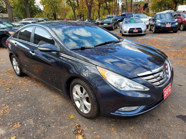 2012 Hyundai Sonata Limited Leather Panoramic Roof