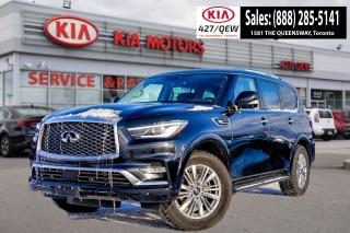 Used 2019 Infiniti QX80 LUXE | THEATRE PACKAGE | 360 CAMERA | COOLED SEAT for sale in Etobicoke, ON