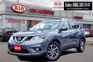 Used 2015 Nissan Rogue SL for sale in Etobicoke, ON