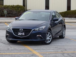 Used 2015 Mazda MAZDA3 AUTOMATIC,NO-ACCIDENTS,ONE-OWNER,COMFORT,LOADED OP for sale in Mississauga, ON