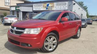 Used 2010 Dodge Journey R/T AWD Backup Cam,Remote start, Bluetooth, p-moon for sale in Etobicoke, ON