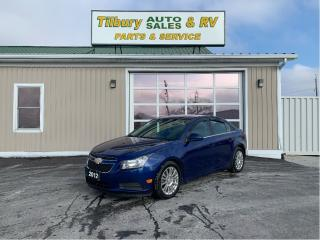 Used 2012 Chevrolet Cruze Eco for sale in Tilbury, ON