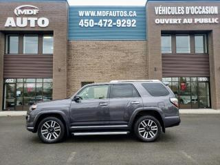 Used 2016 Toyota 4Runner LIMITED 7 PASS for sale in St-Eustache, QC