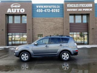 Used 2011 Mitsubishi Outlander 4 RM 4 portes LS for sale in St-Eustache, QC
