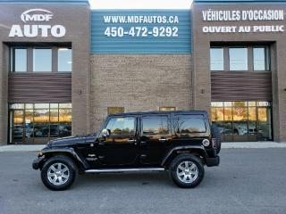 Used 2013 Jeep Wrangler Modèle Sahara Unlimited for sale in St-Eustache, QC