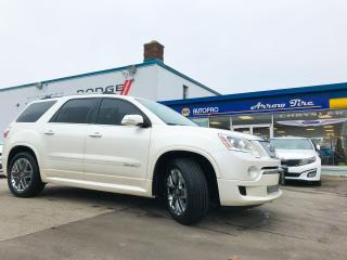 Used 2012 GMC Acadia Denali for sale in Aylmer, ON