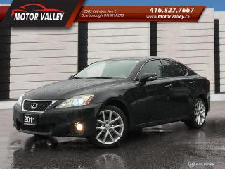 Used 2011 Lexus IS 250 AWD NAV-B.UP CAM LOADED MINT! for sale in Scarborough, ON