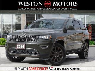 Used 2016 Jeep Grand Cherokee LMTD 75TH ANN ED.*EVERY OPT POSSIBLE*VERY RARE!!* for sale in Toronto, ON