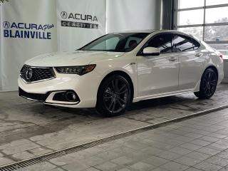 Used 2018 Acura TLX A-Spec SH-AWD ** TECH ** for sale in Blainville, QC