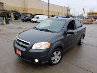Used 2011 Chevrolet Aveo Low km, 4 door, Auto, 3/Y Warranty Availabl for sale in Toronto, ON