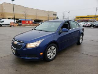 Used 2012 Chevrolet Cruze Auto, 4 Door, A/C, 3/Y Warranty available for sale in Toronto, ON
