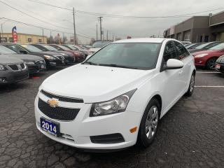 Used 2014 Chevrolet Cruze LT for sale in Hamilton, ON
