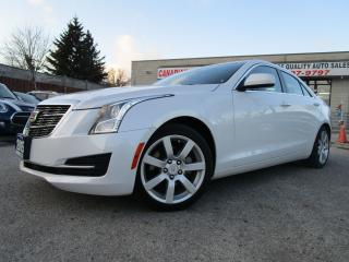 Used 2015 Cadillac ATS 2.5L Standard-LEATHER-HEATED-BLUETOOTH-LOW KM for sale in Scarborough, ON
