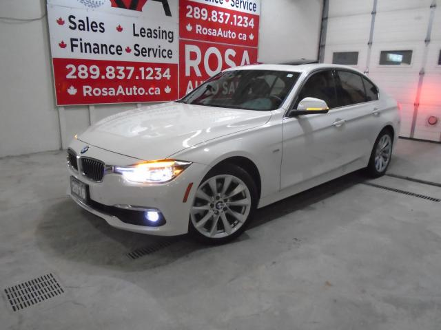 2016 BMW 3 Series 328i xDrive AWD NO ACCIDENT NAVIGATION B-TOOTH B-C