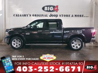 Used 2016 RAM 1500 Longhorn | 4X4 | Heated/Cooled Seats | Leather for sale in Calgary, AB