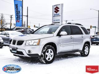 Used 2007 Pontiac Torrent AWD ~Fog Lamps ~Alloy Wheels ~ONLY 77,000 KM! for sale in Barrie, ON