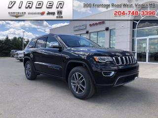 New 2020 Jeep Grand Cherokee Limited for sale in Virden, MB