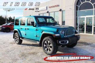 New 2020 Jeep Wrangler Sahara for sale in Virden, MB