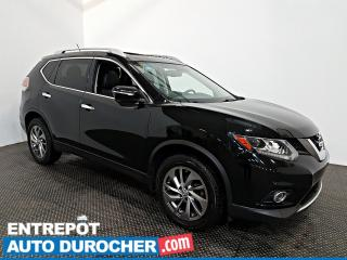 Used 2015 Nissan Rogue SL AWD NAVIGATION - toit Ouvrant - A/C - Cuir for sale in Laval, QC