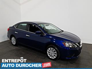 Used 2019 Nissan Sentra S Automatique - AIR CLIMATISÉ - Caméra de Recul for sale in Laval, QC