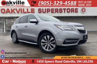 Used 2016 Acura MDX SH-AWD TECH PKG | NAVI | B/U CAM | DVD | LEATHER for sale in Oakville, ON