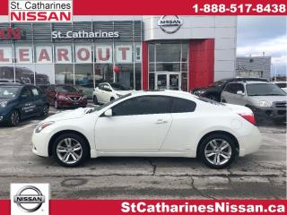 Used 2013 Nissan Altima 2dr Cpe I4 CVT 2.5 S for sale in St. Catharines, ON