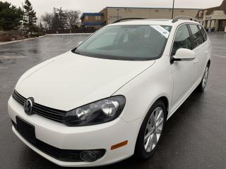Used 2013 Volkswagen Golf Wagon Highline TDI 6 SPEED MANUAL PANORAMIC SUNROOF for sale in Concord, ON