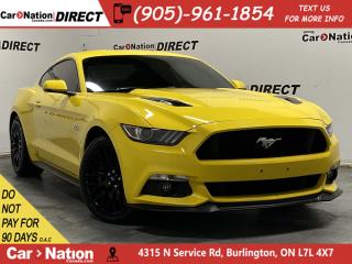 Used 2015 Ford Mustang Fastback GT| RECARO SEATS| NAVI| LOCAL TRADE| for sale in Burlington, ON