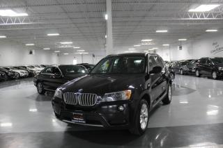 Used 2011 BMW X3 28i I NO ACCIDENTS I LEATHER I PARK ASSIST I PANOROOF I BT for sale in Mississauga, ON