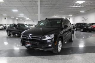 Used 2013 Volkswagen Tiguan 4MOTION I LEATHER I PANOROOF I BIG SCREEN I HEATED SEATS for sale in Mississauga, ON