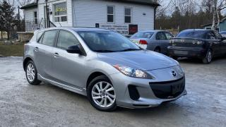 Used 2013 Mazda MAZDA3 1-Owner No-Accidents Sunroof Bluetooth for sale in Sutton, ON