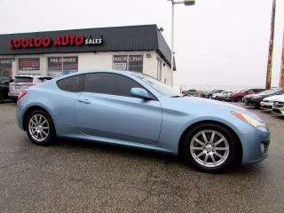 Used 2010 Hyundai Genesis Coupe 2.0T 6 SPEED MANUAL LEATHER SUNROOF CERTIFIED for sale in Milton, ON